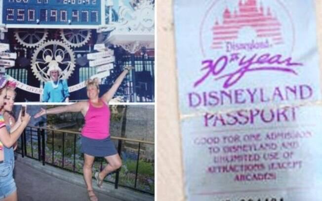 Tamia ganhou um ingresso para Disney em 1985 e conseguiu utilizá-lo em 2019