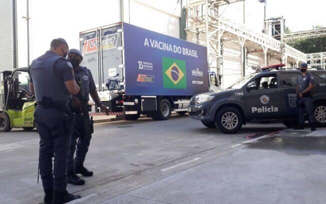 DRS Campinas recebe mais um lote da vacina AstraZeneca