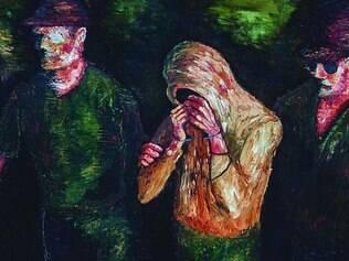 Questionamento. Pinturas de Angelo Isso buscam refletir sobre as instituições brasileiras