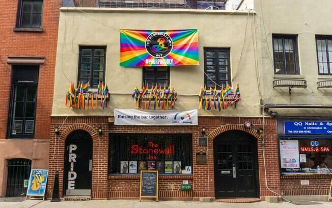 Stonewall, em Nova York, foi palco de manifestações LGBT em 1969