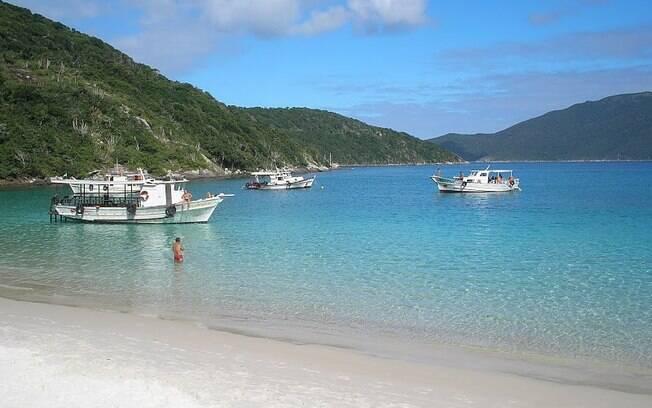 Praia do Forno, em Arraial do Cabo