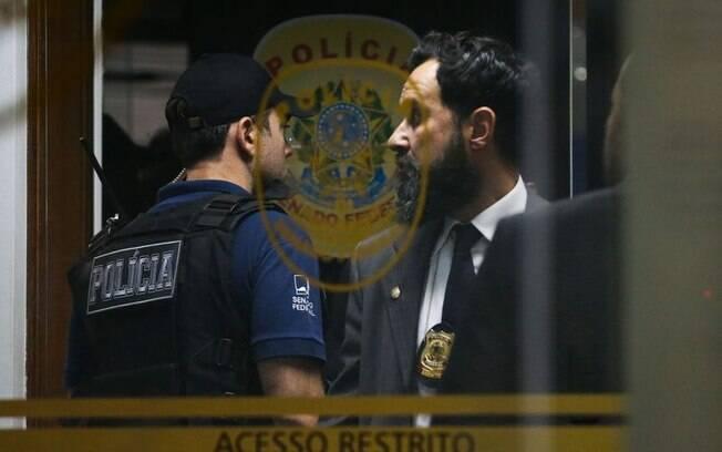PF apurou que a Polícia Legislativa fez varreduras em busca de grampos em endereços particulares de senadores