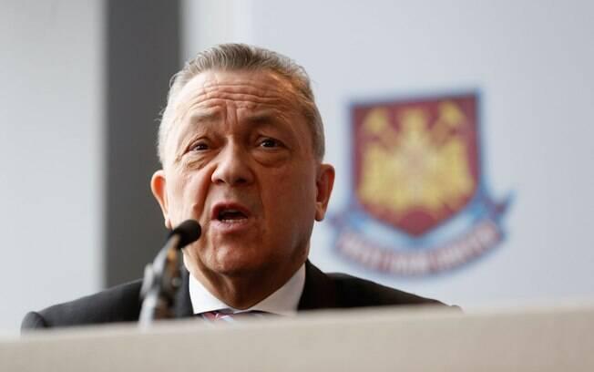David Sullivan, dono majoritário do West Ham