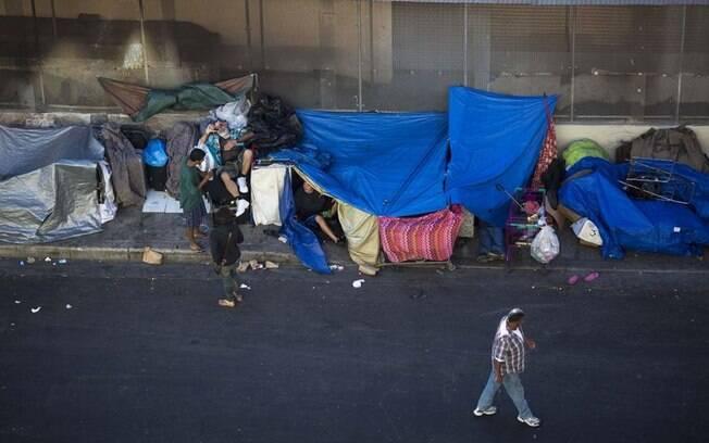 Número de pessoas em situação de rua na cidade de Los Angeles já é de 59 mil