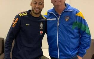 Defesa de Najila cobra igualdade e cita boa relação de Neymar com Bolsonaro