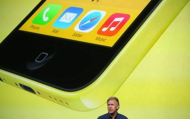 iPhone 5C tem capas de policarbonato