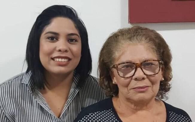 Jessica Tomaz, de 25 anos, decidiu deixar o trabalho pela saúde da mãe, Maria do Socorro, que é hipertensa