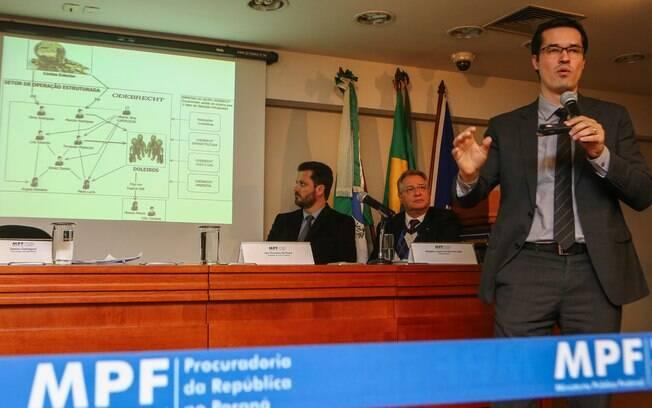 Dallagnol criticou o sistema de prescrição e nualidades concedidos pela Justiça brasileira