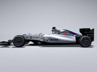 O FW37 será testado no circuito de Jerez de la Frontera, na Espanha, durante a pré-temporada da F1