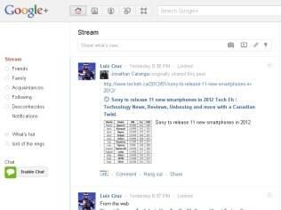 Google+ ganha integração com Orkut