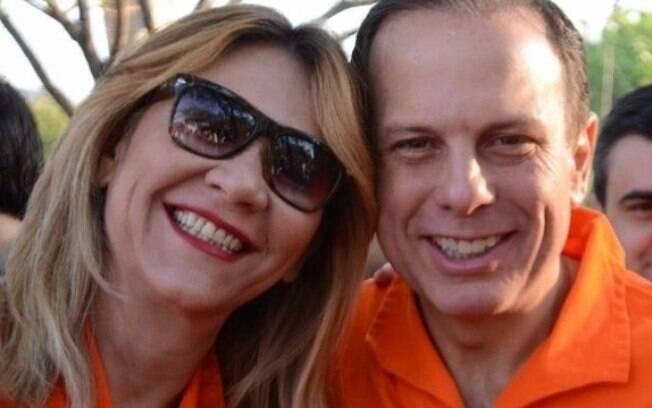 Denise Abreu e João Doria