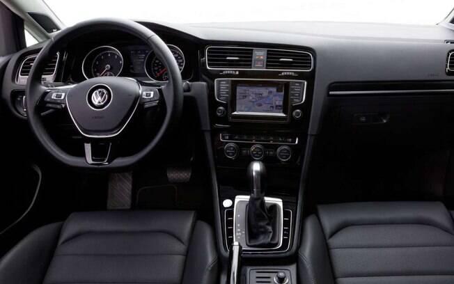 Interior do Volkswagen Golf 1.4 Flex