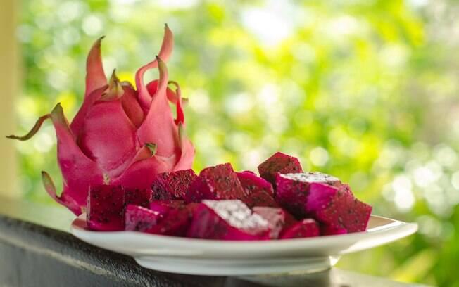 Pitaya ajuda a manter a pele bonita, contribui para a digestão e ainda tem poucas calorias