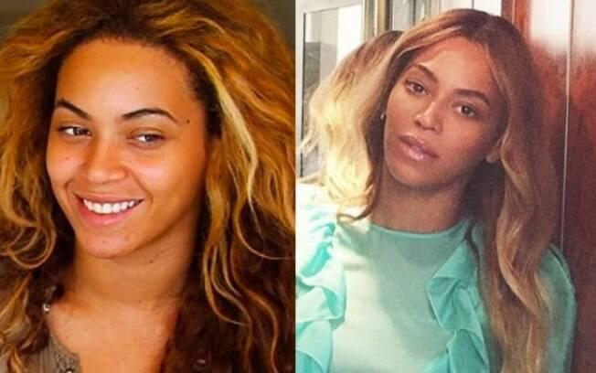 Beyoncé é linda mesmo sem maquiagem, né?