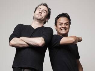 Humor.  Caju e Totonho estrelam comédia gratuita próxima quinta