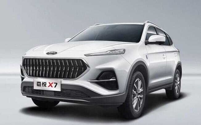 JAC Motors X7 Jiauye vem com linhas arrojadas e tem porte médio, como o VW Tiguan. Mas, por enquanto, sem previsão de chegar ao Brasil