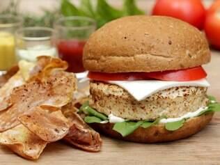 Hambúrguer com Whey Protein é a nova invenção