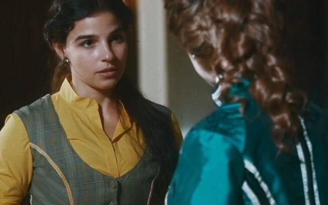 """Nos Tempos do Imperador – Luísa toma notícia devastadora e ordem de Pilar aflita: """"Poderá morrer aqui"""""""