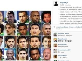 Recado do craque agradece mensagens e revela possibilidade de jogar estar no Maracanã caso Brasil avance