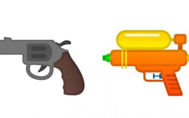 Google, Facebook e Microsoft seguem Apple e trocam emoji de arma de fogo
