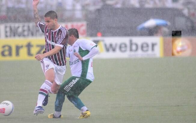 Wagner, do Fluminense, durante partida contra  o Boavista pelo segundo turno do Estadual do Rio