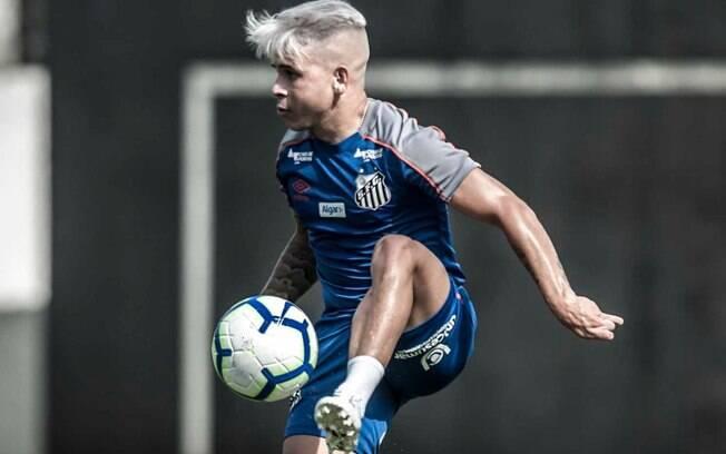 Soteldo, jogador do Santos