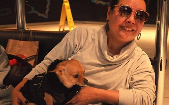 Juju, a Chihuahua, e Vilma