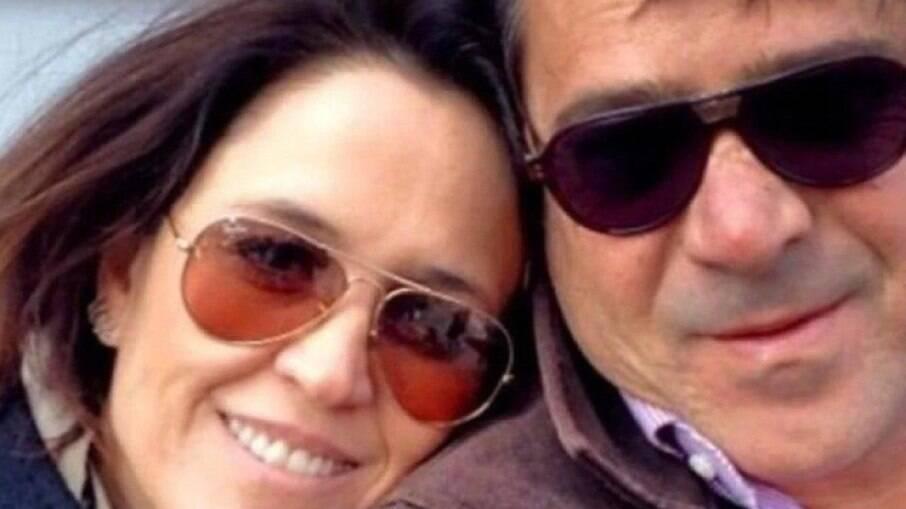 Apresentadora do Jornal Nacional lamenta morte do marido: