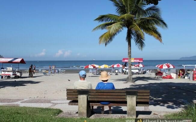 Das praias de Santos, a Praia do Boqueirão é uma das mais movimentadas, com muitas opções de coisas para fazer