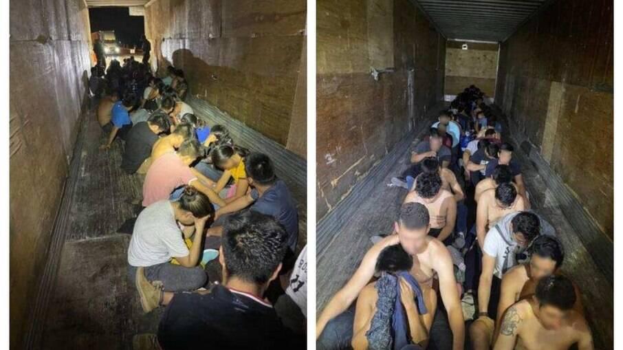 EUA: Brasileiros são encontrados em carroceria na fronteira com México