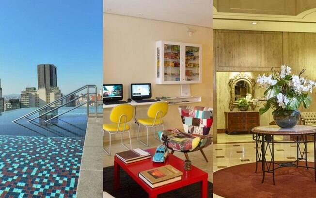 O iG Turismo visitou tipos de hospedagens diferentes em São Paulo: um apartamento, um hostel e um hotel