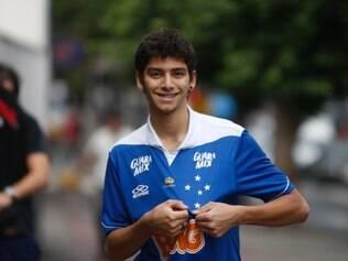 ESPORTES BH MG Cruzeirences nas ruas de Belo Horizonte um dia apos a vitoria do time no Brasileirao  FOTOS: FERNANDA CARVALHO  / O TEMPO - 24.11.2014