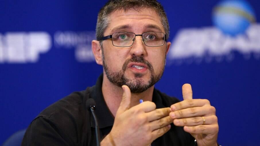 Francisco Perazzoni, especialista na investigação de crimes ambientais