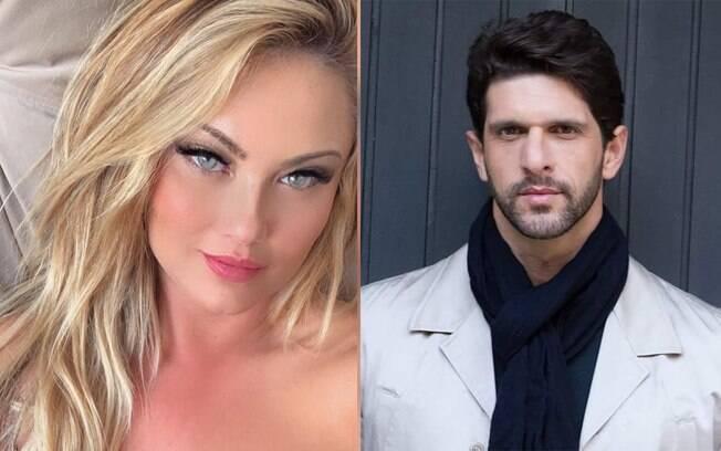 Ellen Roche assume namoro com Guilherme Chelucci