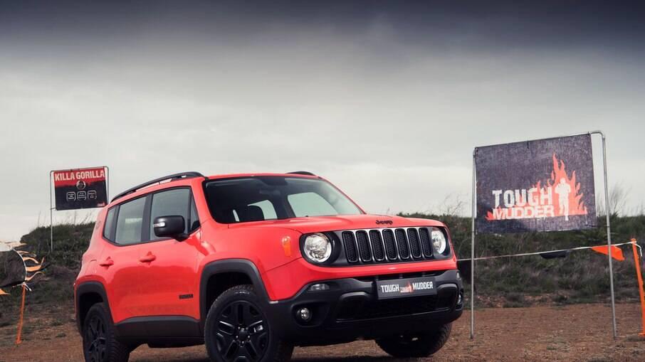 Jeep Renegade Tough Mudder: outra série especial que não chegou a ser vendida no mercado brasileiro