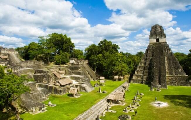 Com as novas descobertas, os pesquisadores acreditam que a cidade de Tikal (na foto) era apenas uma parte da megalópole