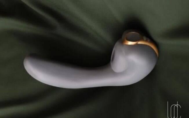 Vibrador promete provocar orgasmos combinados, de acordo com a fabricante e não precisa do uso das mãos