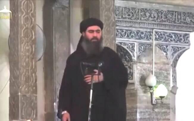 Suposto líder do EIIL exige lealdade em vídeo gravado no Iraque