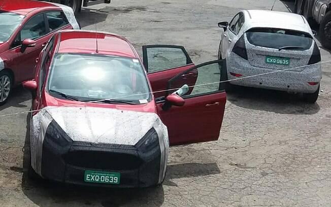 Ford Fiesta renovado roda em fase final de testes. Mudanças serão discretas e não vão incluir a parte mecânica
