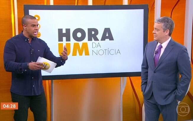 Thiago Oliveira fala sobre racismo com Roberto Kovalick no