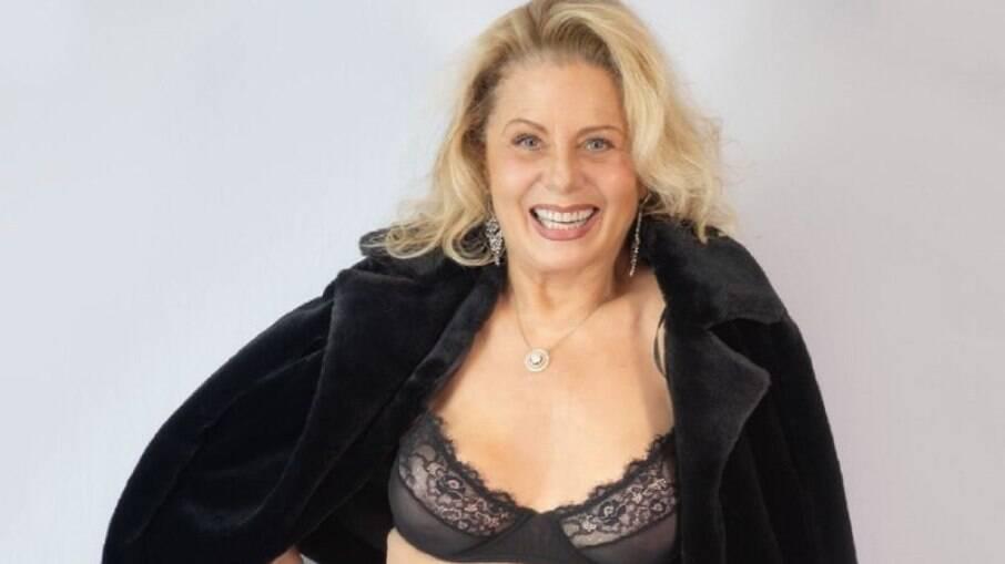 'Driblar a caretice é pho**', diz Vera Fischer em foto de topless 'censurada'