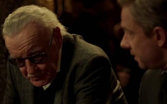 Uma das icônicas participações especiais de Stan Lee foi durante o filme