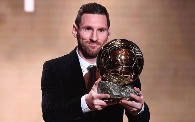 Lionel Messi com mais uma Bola de Ouro