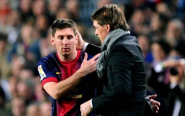 Messi e Tito Vilanova