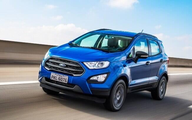 O Ford EcoSport Freestyle vem com novo motor de 3 cilindros, que faz até 11,6 km/l na cidade, segundo o Inmetro