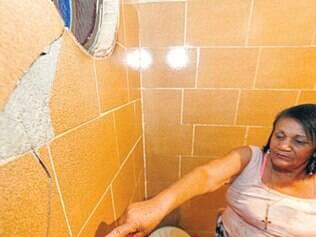 Conceição Leonídia aponta avarias provocadas por explosões