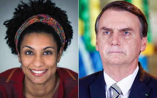 Marielle e Bolsonaro