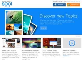 So.cl, a nova rede social da Microsoft