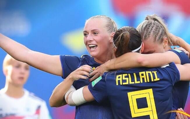 Mesmo com 60% de posse de bola, a Alemanha não foi capaz de evitar a vitória da Suécia