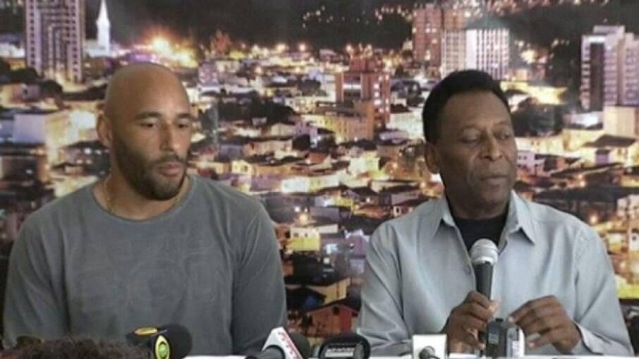 Edinho defende Pelé sobre polêmica com filha
